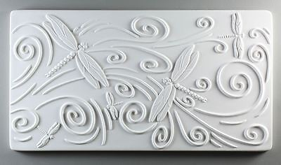 Dragonfly Texture Tile Mold - Glass Fusing