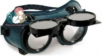 ABN Oxygen-Acetylene Goggles – Flip Front, 50mm Eye Cup, #5 Shade For...