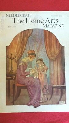 Vintage Beautiful Mom & Child Antique Needlecraft Magazine1934 Reginald P. Ward