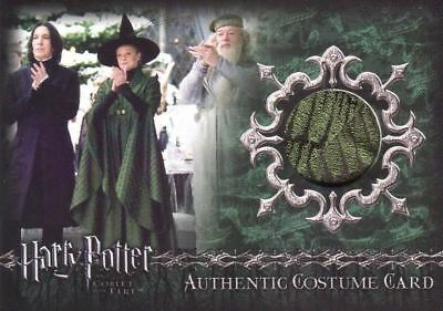 Harry Potter Goblet Fire Update Minerva McGonagall Costume Card HP C3 #083/350
