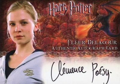 Harry Potter and the Goblet of Fire Update Clemence Poesy Autograph Card