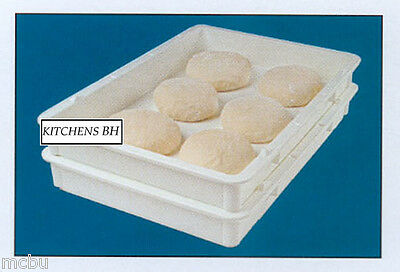 60 Pizza Dough Boxes -Dough Trays - Self-Stacking