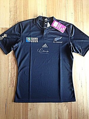 2015 Rugby World Cup All Black Jersey Signed By Julian Savea