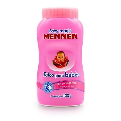 MENNEN BABY MAGIC POWDER TALC 200g-7.05 oz PINK / TALCO MENNEN PARA BEBES ROSA