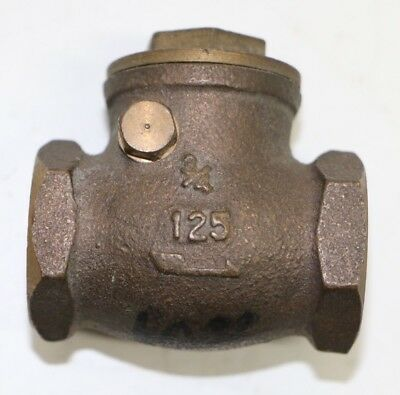"3/4"" Brass Gate / Stop Valve Fitting 125 Series 200WOG w/ FREE Shipping!"