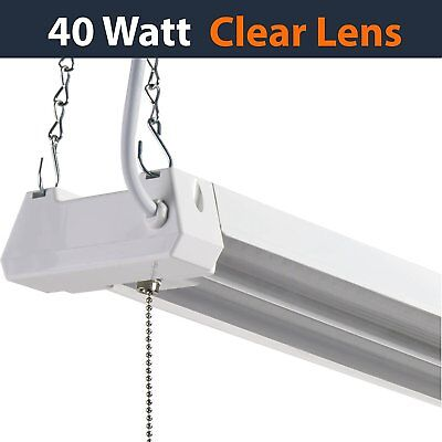 LED 4ft Utility Shop Light - 40w (100W Replacement), 4000K (Cool White) Garag...