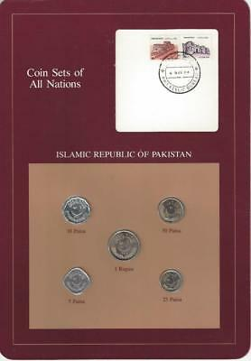 Coin Sets of All Nations - Pakistan