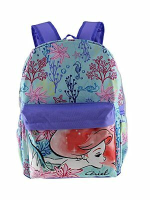 "Disney Princess The Little Mermaid Ariel 16"" Large School Backpack"