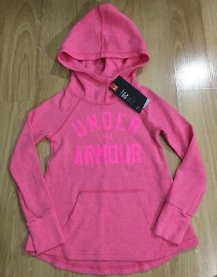 Under Armour Hoodie Youth Small Cold Gear Pink NEW!!