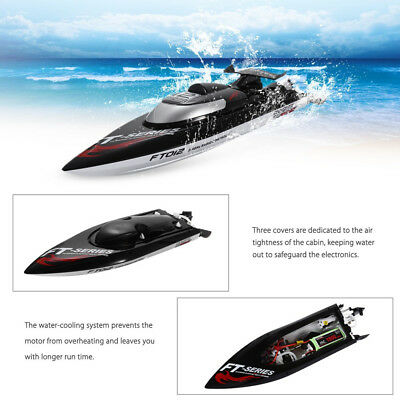 AU FeiLun FT012 2.4G 4CH RC Boat 45KM/H HIGH SPEED Racing Toy Cooling Gift Toys