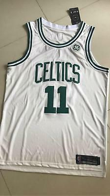 Men's Boston Celtics Kyrie Irving NO.11 Stitched Basketball White Jersey