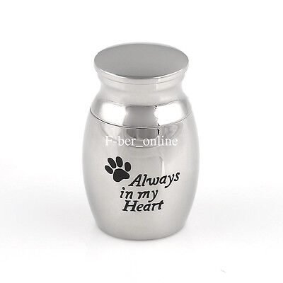 Mini Keepsake Urn Small Cremation Urn for Ashes Funeral Urn Paw Print Model