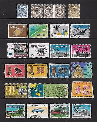 MALAYSIA - mixed collection No.15, incl Postage Due