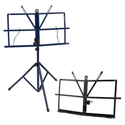 Foldable Sheet Tabletop Music Stand Holder + Stage Music Stand Lightweight