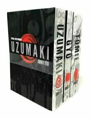 Junji Ito Collection 3 Books Pack Set Tomie Complete Deluxe, Uzumzki, Gyo NEW