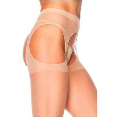 Collants ouverts Skin