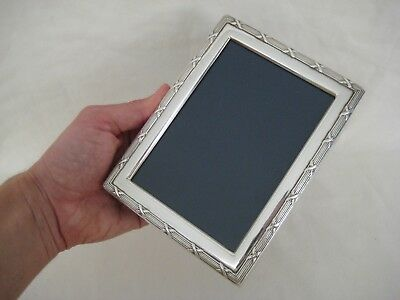 Silver Easel Back Picture Frame, 1994 Sheffield
