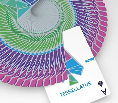 Tessellatus Playing Cards Rare Limited Custom Cardistry Poker Deck not Bicycle