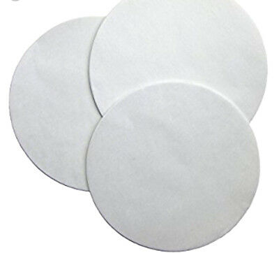 "100 ct. 9"" Parchment Paper Cake Circle White  Round Pan Liner"