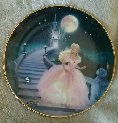 Royal Doulton Franklin Mint plate The Magic of Cinderella limited edition
