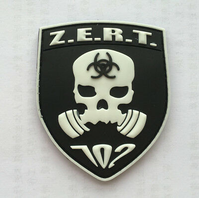 Implementation team execution Military action  TACTICAL BADGES rubber HOOK PATCH
