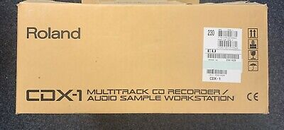 Roland CDX-1 | SAMPLING UND MULTITRACK CD-RECORDING | Originalverpackt