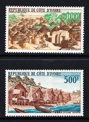 Ivory Coast 1968 Local Landscapes - MNH pair - Cat £13 - (121)