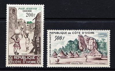 Ivory Coast 1962 Anniversary of First Flight to France - Mint hinged - (116)