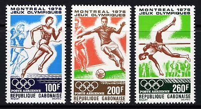 GABON 1976 Airmail - Olympic Games, Montreal - MNH set - Cat £6.50 - (109)