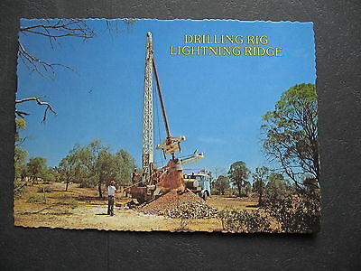 Drilling Rig Lightning Ridge NSW Australia