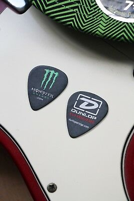 MONSTER ENERGY Guitar Plectrum Pick Dunlop Strings RARE