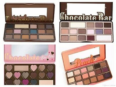 Hot Too Faced Eyeshadows Palette Sweet Peach/Bon Bons/Semi Sweet Chocolate Bar