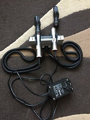 KEELER OTOSCOPE & OPTHALMASCOPE with heads not working