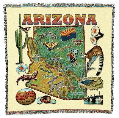 Oregon State Woven Art Tapestry Throw 3912-ls Made In Usa Home & Garden