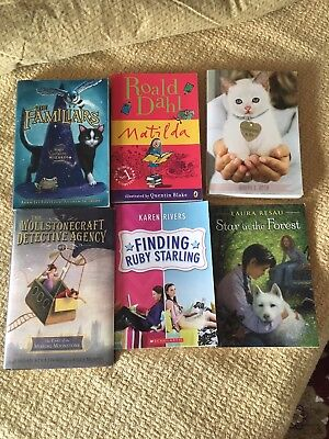 4th Grade Reading Book Lot Scholastic