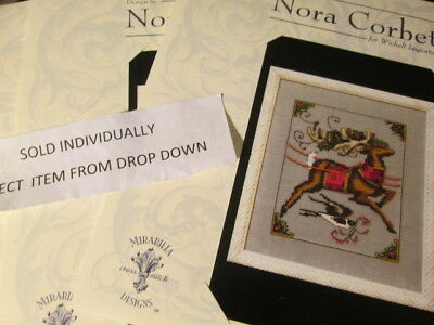 Nora Corbett Christmas Eve Couriers (Reindeer) Cross Stitch CHART- Your Choice