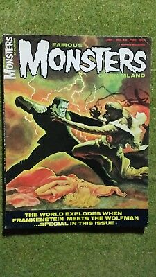 Film & TV. Famous Monsters #42.
