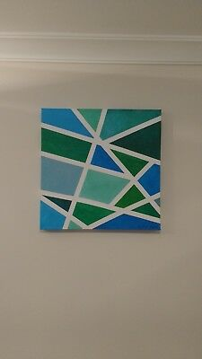 Modern Abstract Handmade Canvas Painting