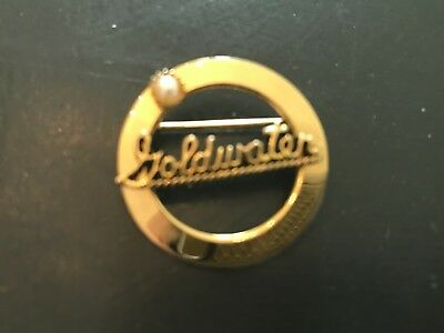 1964 Goldwater Brooch with Pearl