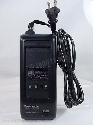 Genuine Panasonic PV-A16 Battery Charger AC Adapter for Camcorder Tested