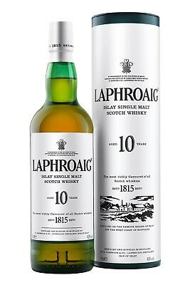 LAPHROAIG 10 Jahre | Islay Single Malt Whisky | 40,0% | 0,7 L