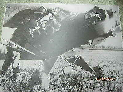 Vintage 1940's extra large real US Army Photograph General Mark Clark in Europe