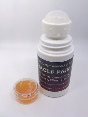 Miracle Pain Away DMSO: HUGE relief from joint pain! ROLL-ON 50ml + gel sample