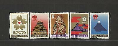 Vatican City ~ 1970 Osaka Japan Expo 70 World's Fair (Mint Mnh)