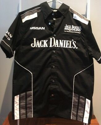 Nissan Nismo Jack Daniels Motor Racing V8 Supercars Short Sleeve Shirt - Small