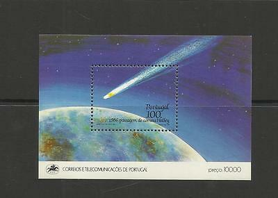 Portugal ~ 1986 Halley's Comet Mini Sheet