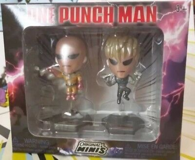 One Punch Man Figure 2-pack Original Minis LOOT Anime Crate EXCLUSIVE **NEW**