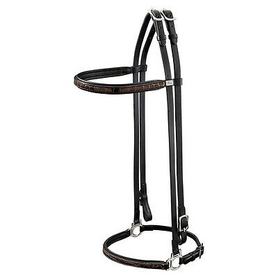 Hunter Snaffle for Iceland horses en Vogue brown, Various Sizes, NEW