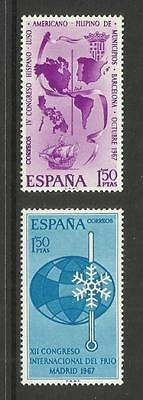 Espana Spain ~ 1967 Congress Commemoratives (Mint Mnh)