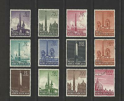 Vatican City ~ 1959 Air Mail Obelisks (Mint Mh) Set
